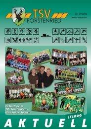 TSV-Aktuell 1-2009:TSV-Aktuell 4-2007 - TSV Forstenried