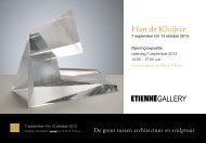 Han de Kluijver - Etienne Gallery