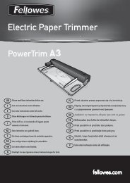 Electric Paper Trimmer Electric Pa - Fellowes