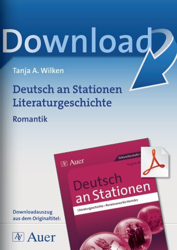 Deutsch an Stationen Literaturgeschichte