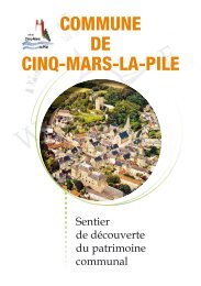 COMMUNE DE CINQ-MARS-LA-PILE