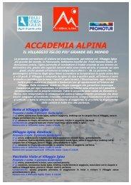 accademia alpina il villaggio igloo piu - Turismo Friuli Venezia Giulia