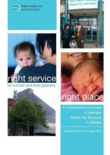 Read the consultation document now - Belfast Health and Social ...