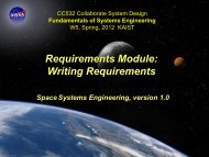Requirement Writing - Systems Modeling Simulation Lab. KAIST