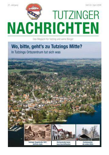 Das Magazin für Tutzing und seine Bürger - Tutzinger Nachrichten