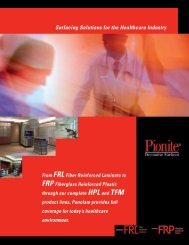 Pionite® Healthcare Brochure - Panolam