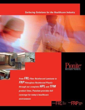 Pionite® Healthcare Brochure - Panolam