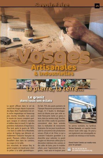 "Savoir-faire ""Artisanal & industriel"""
