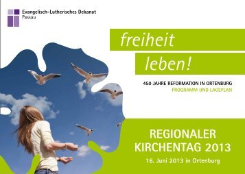 freiheit leben! - Evangelisch mitten in Bayern