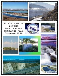 Palmdale Water District - State of California