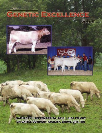 Genetic Excellence - American International Charolais Association