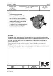Staffa/Kawasaki Product info in Pdf format - Airline Hydraulics