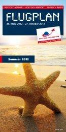 Sommer 2012 - Flughafen Rostock-Laage