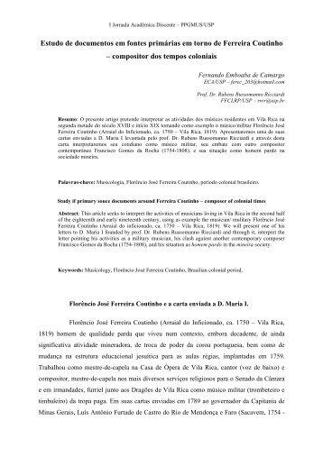 Artigo pos esquematizado - ECA - USP