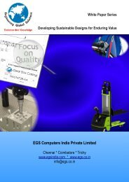 Download White Paper on Sustainable Design - EGS Computers