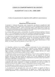 codice di comportamento dei docenti - Istituto Comprensivo Este