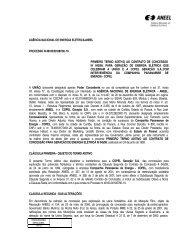 Termo Aditivo Contrato 45/1999 - Aneel