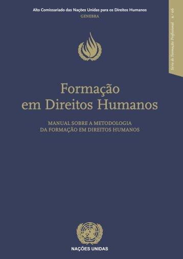 Formação em Direitos Humanos - DHnet