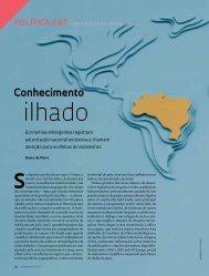 ilhado - Revista Pesquisa FAPESP