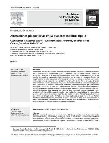 diabetes tipos sintomas y tratamiento