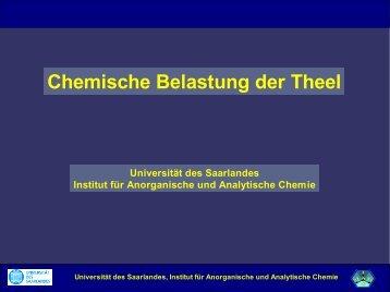 Chemische Anlayseergebnisse an Ill und Theel ... - Lebendige Prims