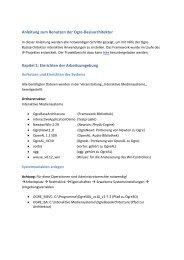 OBA-Anleitung als Pdf - Neueste Projekte