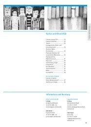 Kultur und Kreativität Information und Beratung - VHS Heilbronn