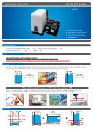 HP56/57 - Continuous Ink Systems