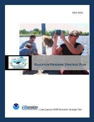 Education Program Strategic Plan - Lake Superior National ...