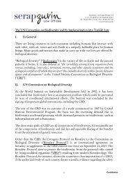 PRIVILEGED & CONFIDENTIAL - Serap Zuvin Law Offices