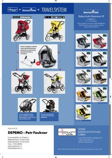 Katalog kočárky HOCO 2005 - Depemo
