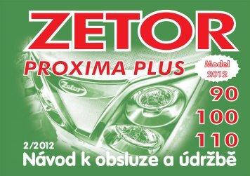 Proxima Plus 2012 CZ 3B.pdf - CALS servis sro