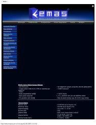 ..:: EMAS ::.. http://www.emasas.com.tr/rz1d.aspx[25.08.2009 11:15 ...