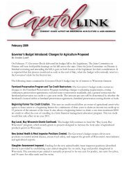 Capitol Link ~ February 2009 (pdf) - Professional Dairy Producers of ...