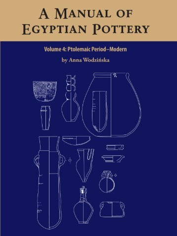 Volume 4 - Ancient Egypt Research Associates