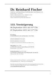 5. - Dr. Reinhard Fischer Briefmarken Auktions