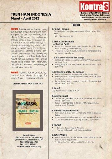 TREN HAM INDONESIA - KontraS