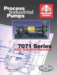 ANSI 7071 Brochure - Gusher Pumps