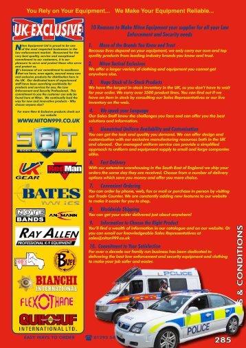 UK EXCLUSIVE - Niton 999 Equipment
