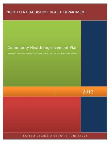 Community Health Improvement Plan - North Central District Health ...