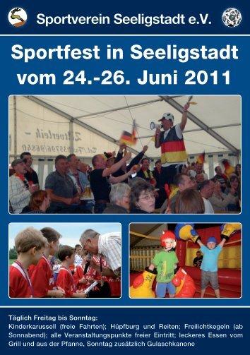 Sportfest in Seeligstadt vom 24.-26. Juni 2011