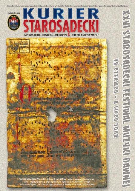 Nr 142 Czerwiec 2004 Kurier Starosädecki