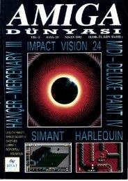 Amiga Dunyasi - Sayi 23 (Nisan 1992).pdf - Retro Dergi