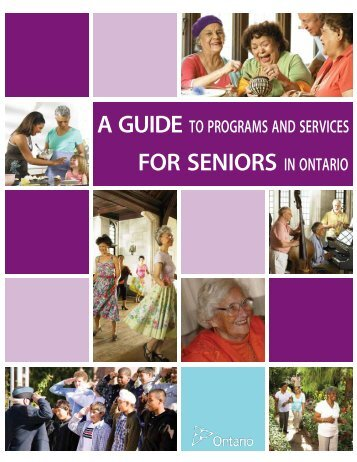 Guide to Programs and Services for Seniors in Ontario