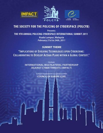 the society for the policing of cyberspace (polcyb)
