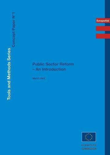 Public Sector Reform - Norman Flynn's