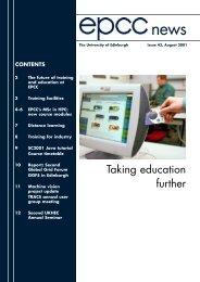 epcc news 43 PRINT - University of Edinburgh