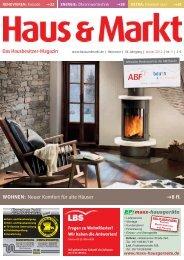 Das Hausbesitzer-Magazin WOHNEN: Neuer Komfort für alte ...