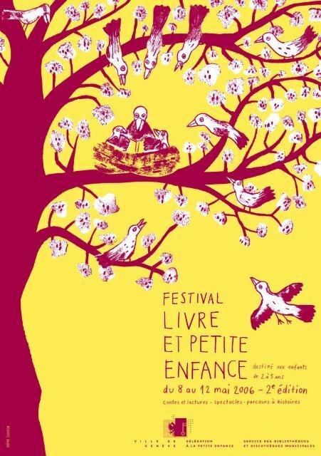 Programme 2006 Du Festival Du Livre Petite Enfance Ville