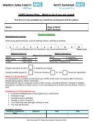 COPD EXACERBATIONS PCT WAHT Final 2009.pdf - NHS North ...